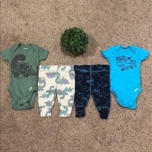 Two newborn outfits for baby boy💙